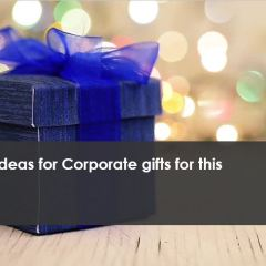 Classy ideas for Corporate gifts for this Diwali
