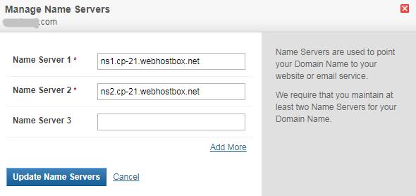 manage name server