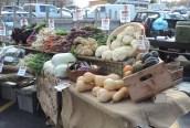 The Farmers Market will move inside next week...I so love fresh food!