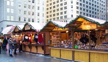 Sixty booths will be selling wares and great food at Christkindlmarket this year.