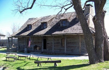 "The Factory, the ""store"", was built inside the main gate of Fort Osage. The factory opened on October 1, 1808. The factor at Fort Osage was George Sibley."