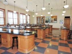 The botany lab in the Visitor Center