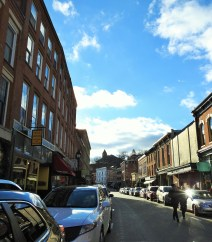 The historic Main Street in Galena, with so, so many wonderful stores, full of so, so many wonderful items.