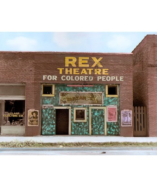 Rex Theatre for Colored People, Leland MS 1937