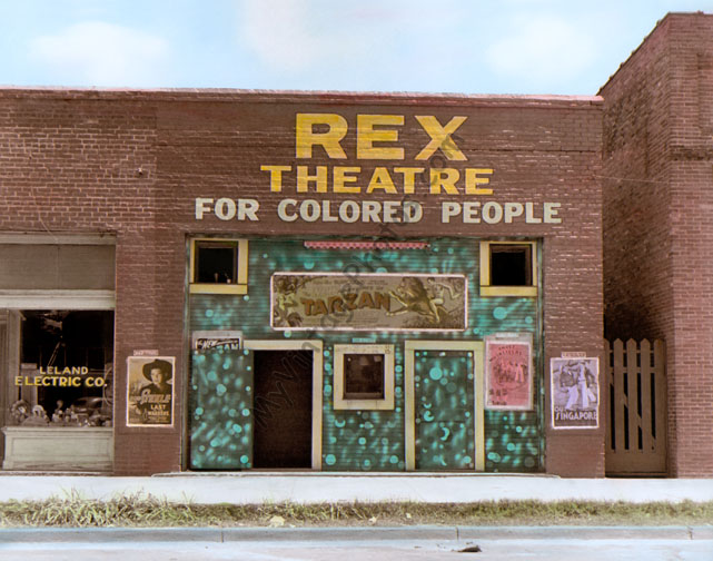 Rex Theatre for Colored People