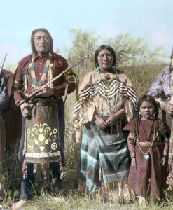 Bannock Native American Indians