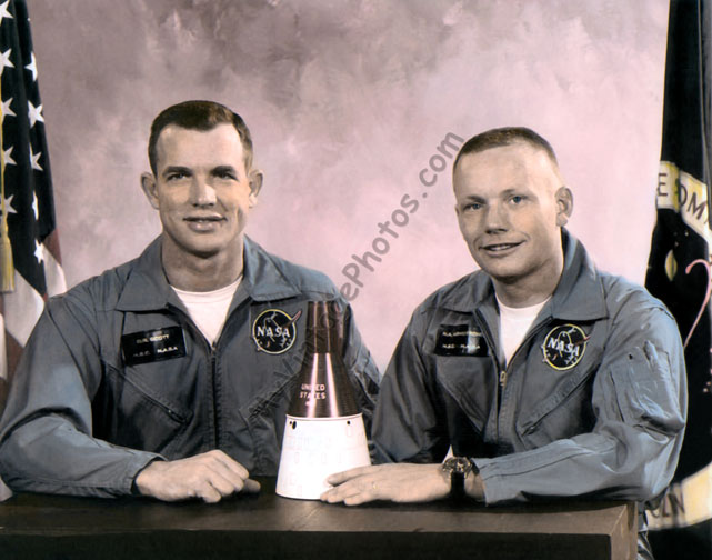 David Randolph Scott & Neil Alden Armstrong May 1966