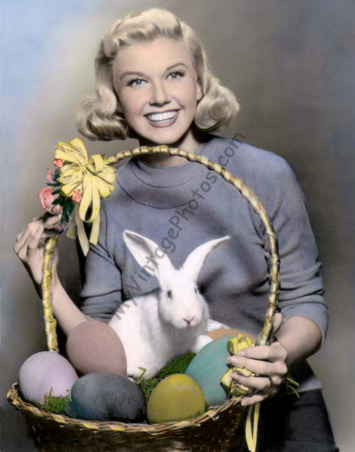 Doris Day Easter Basket