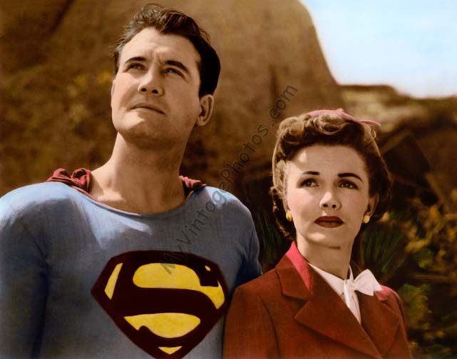 George Reeves & Phyllis Coates The Adventures of Superman