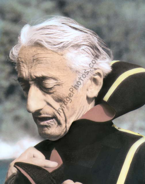 Jacques Cousteau, explorer & filmmaker