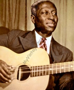 Huddie William Ledbetter, aka Lead Belly