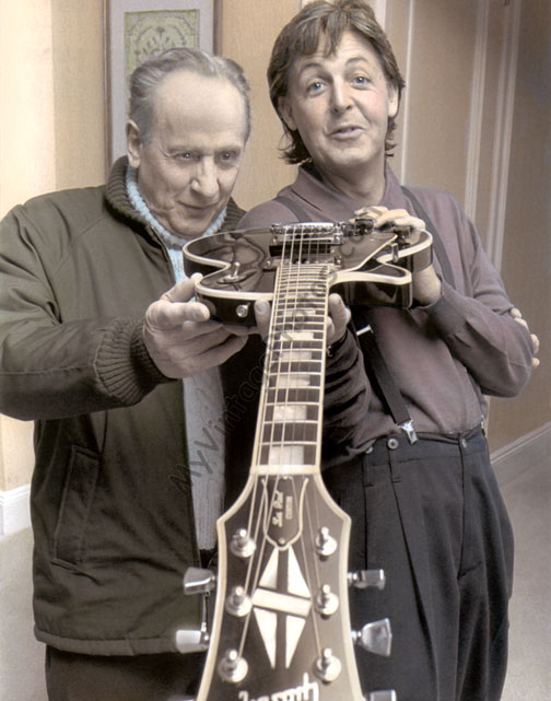 Les Paul Sir McCartney