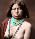 Mojave Native American woman