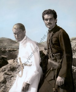 Peter O'Toole & Omar Sharif Lawrence of Arabia 1962