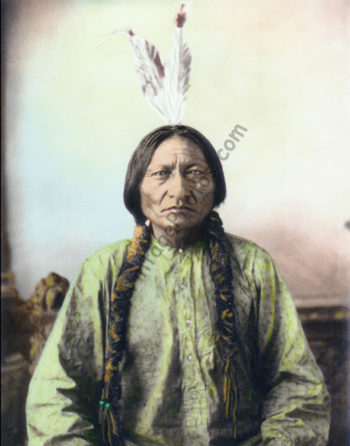 Sitting Bull Sioux Native American