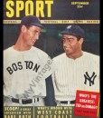 Ted Williams & Joe DiMaggio September 1948