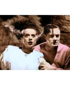 Elsa Lanchester & Colin Clive, The Bride of Frankenstein
