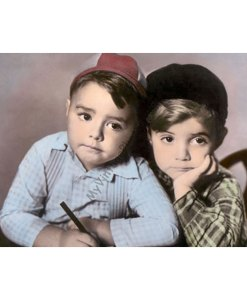 "George McFarland ""Spanky"" & Scott Hastings Beckett ""Scotty"", The Little Rascals Our Gang"