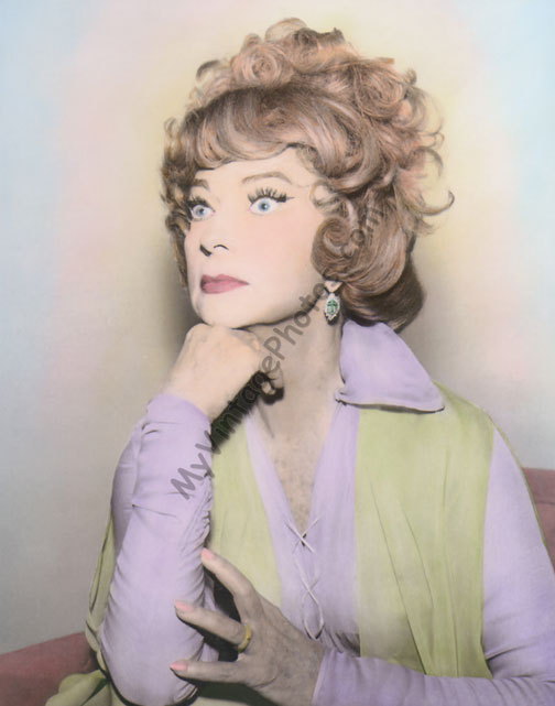 Agnes Moorehead as Endora on Bewitched, 1960s
