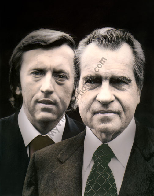 Sir David Frost & President Richard Nixon