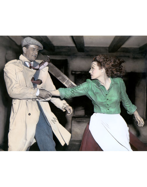 John Wayne & Maureen O'Hara, The Quiet Man 1952