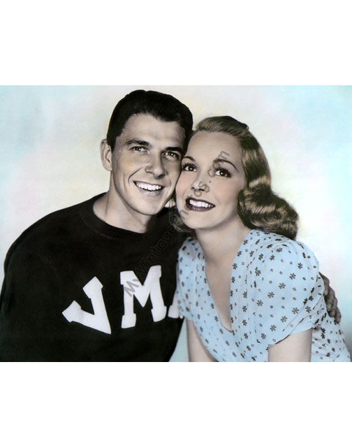 Ronald Reagan & Jane Wyman, Brother Rat 1938