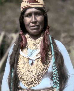 Alice Frank, Yurok Native American 1907