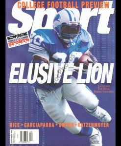 Barry Sanders, SPORT magazine September 1998