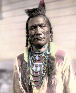 Bird Rattle, Spokane Native American 1910