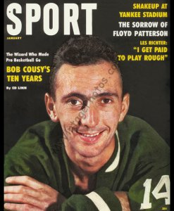 Bob Cousy, SPORT magazine January 1960