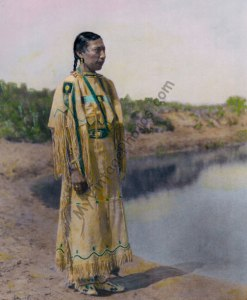 Cheyenne Maiden, Native American 1930