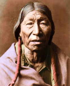 Cheyenne Native American male, 1910