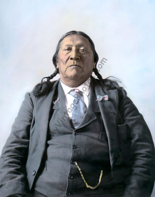 Chonipa Bones, Comanche Native American Indian 1898