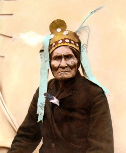 "Geronimo, Chief ""Goyahkla"" Chiricahua Apache Native American Indian 1901"