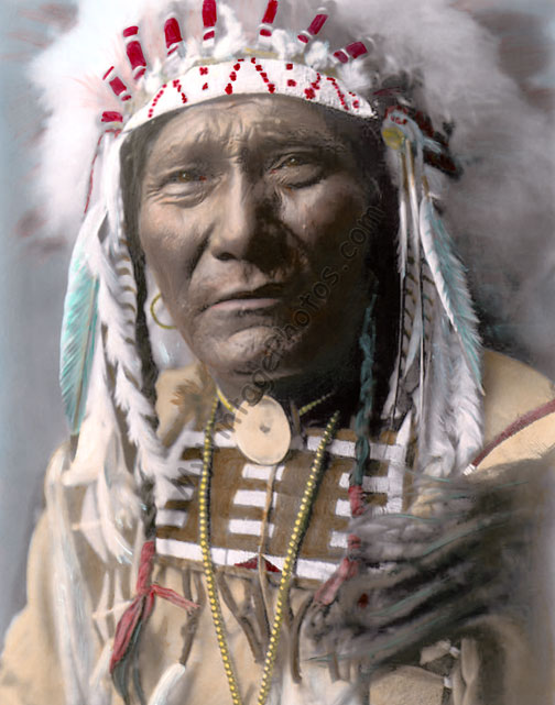 Ghost Bear, Crow Native American Indian 1908