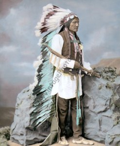He Dog, Oglala Lakota Sioux Native American Indian 1877