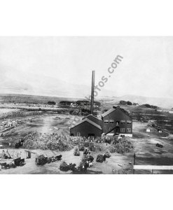 Wailuku Sugar Mill, Wailuku Maui Hawaii in the 1880s