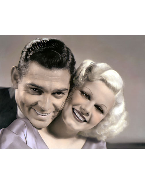 Clark Gable & Jean Harlow, Hold Your Man 1933