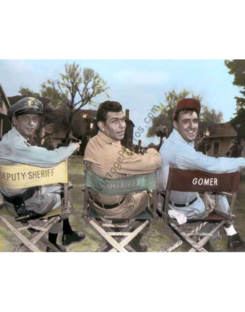 Don Knotts, Andy Griffith & Jim Neighbors, The Andy Griffith Show 1960s