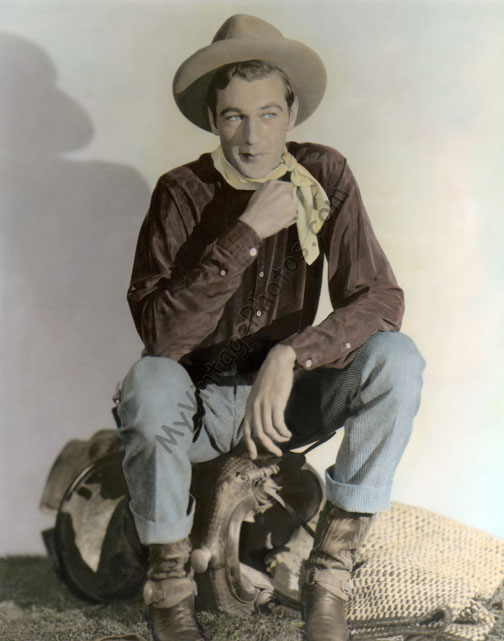 Gary Cooper, The Texan 1930