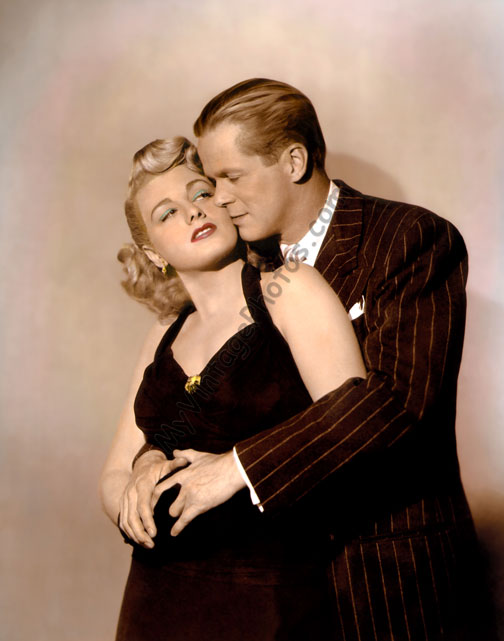 Shelley Winters & Dan Duryea, Johnny Stool Pigeon 1949