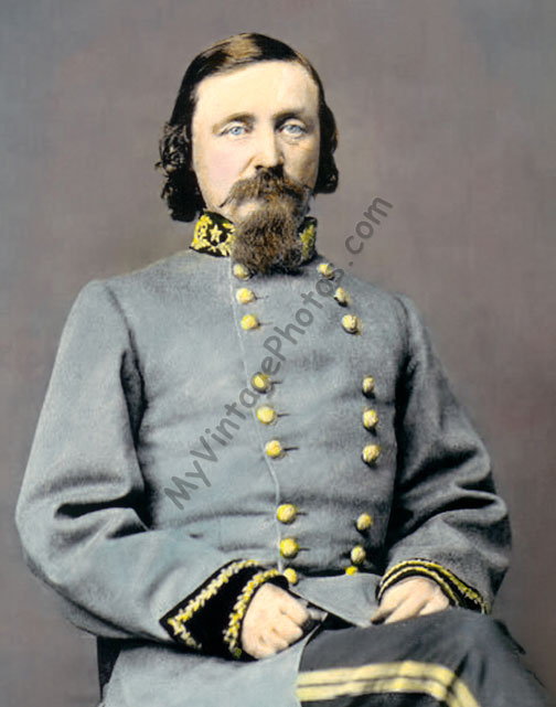 General George E Pickett, 1860