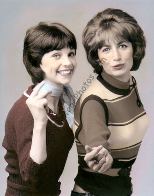 Cindy Williams & Penny Marshal, Laverne & Shirley 1970s