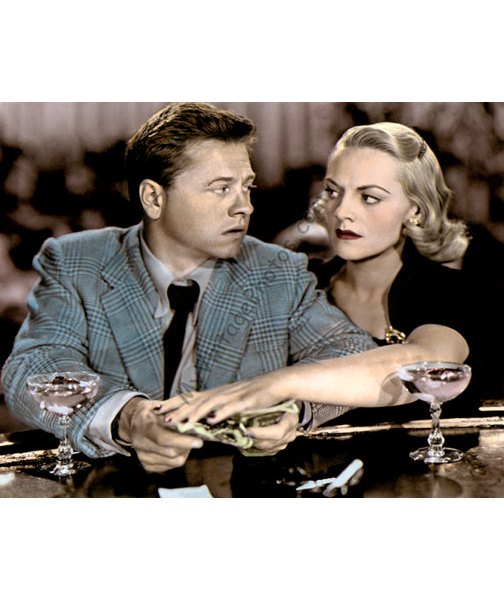Mickey Rooney & Jeanne Cagney, Quicksand 1950