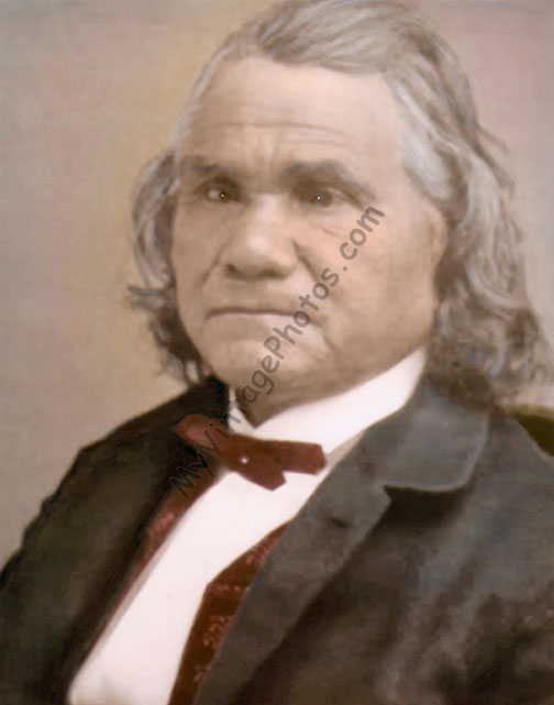 General Stand Watie, Cherokee Native American Indian