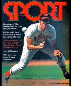 Brooks Robinson, SPORT magazine June 1972
