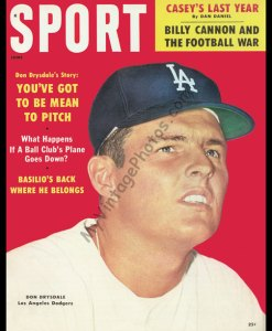 Don Drysdale, SPORT magazine June 1969