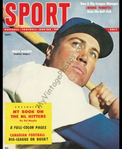 Duke Snider, SPORT magazine September 1954