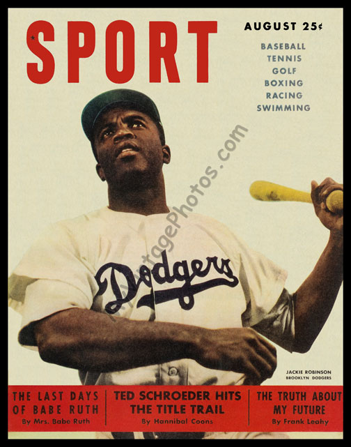 Jackie Robinson, August 1949