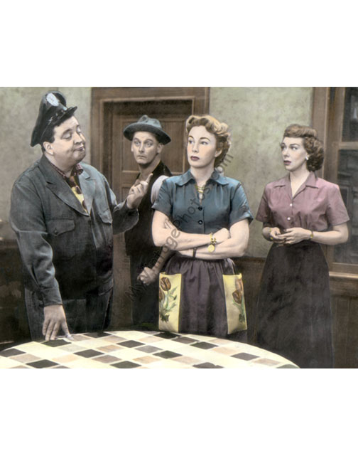 Jackie Gleason, Art Carney, Audrey Meadows & Joyce Randolph, The Honeymooners 1950s